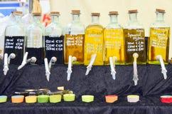 Extra maagdelijke olijfolie Royalty-vrije Stock Foto's