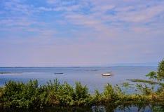 Dit beeld is over het meer van Thailand, Thailand Royalty-vrije Stock Afbeeldingen