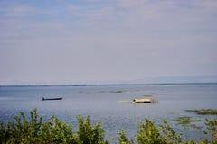 Dit beeld is over het meer van Thailand, Thailand Stock Foto's