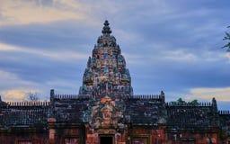 Dit beeld is over kasteel, Thailand Stock Foto