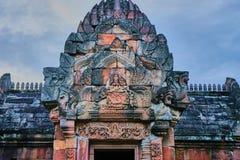 Dit beeld is over kasteel, Thailand Royalty-vrije Stock Foto