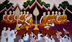 Dit beeld is over muurbeeld, Thailand Royalty-vrije Stock Foto