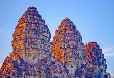 Dit beeld is over rotskasteel, Thailand Stock Foto's