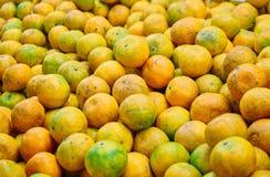 Dit beeld is over sinaasappel in markt, Thailand Royalty-vrije Stock Fotografie