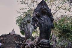 Dit beeld is over standbeeldnaga, Thailand Stock Afbeeldingen