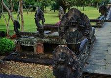 Dit beeld is over standbeeldnaga, Thailand Royalty-vrije Stock Afbeeldingen