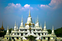 Dit beeld is over Thaise tempel, Thailand Royalty-vrije Stock Foto's