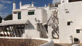 Dit is Binibeca-dorp bij Menorca-eilanden stock footage