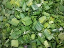 Dit is de foto van cuted groene uibladeren royalty-vrije stock afbeelding