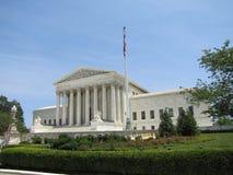Dit is de Hooggerechtshof bouw van de Overheid van Verenigde Staten royalty-vrije stock fotografie