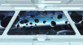 Dit die beeld door NASA wordt geleverd Stock Foto's