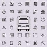 Dit is dossier van EPS10-formaat Gedetailleerde reeks minimalistic lijnpictogrammen Premie grafisch ontwerp Één van de inzameling stock illustratie