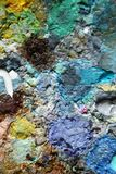 Dit is een fragment van een palet stock afbeelding