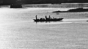 Dit is een rivierlandschap royalty-vrije stock foto's