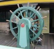 Dit is een schepenwiel van een lang schip Royalty-vrije Stock Foto