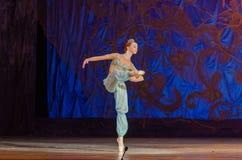Dit eeuwige balletverhaal stock foto