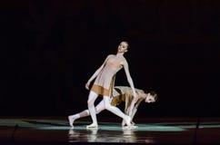 Dit eeuwige balletverhaal Royalty-vrije Stock Afbeeldingen