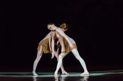 Dit eeuwige balletverhaal Stock Afbeeldingen