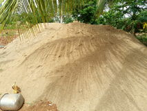 Dit is Indisch zeer aardig zand Royalty-vrije Stock Afbeeldingen