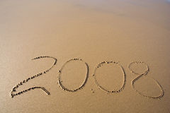 Dit jaar 2008 Royalty-vrije Stock Foto's