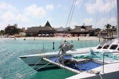Strand in Praradise Stock Foto's