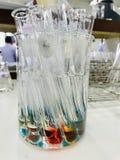 Dit is Kleurrijk van laboratoriumwetenschap royalty-vrije stock foto