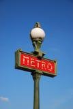 Dit is metro Stock Fotografie