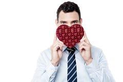 Dit is mijn valentijnskaartgift! Royalty-vrije Stock Foto's