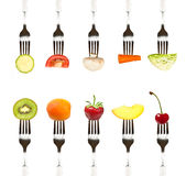 Diät- und Ernährungskonzept Stockfotos