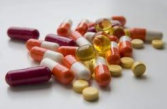 Geneesmiddelen voor een verscheidenheid van einden Stock Foto