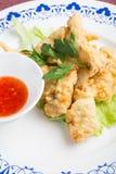 Dita del pollo fritto fotografie stock libere da diritti