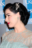 Dita Von Teese Royalty Free Stock Photos