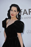 Dita Von Teese. At amfAR's 20th Cinema Against AIDS Gala at the Hotel du Cap d'Antibes, France May 23, 2013  Antibes, France Picture: Paul Smith / Featureflash Stock Photography