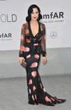 Dita Von Teese. ANTIBES, FRANCE - MAY 22, 2014: Dita Von Teese  at the 21st annual amfAR Cinema Against AIDS Gala at the Hotel du Cap d'Antibes Royalty Free Stock Photography