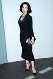 Dita Von Teese, Karl Lagerfeld photo stock