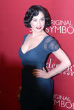 Dita Von Teese on the red carpet. Appearing for Fredricks of Hollywood stock photo