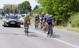 DItalia 2014 do Giro, excursão de Itália Imagem de Stock