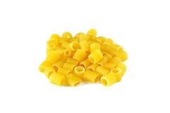 Ditalini,意大利原始的意大利面食 免版税库存图片