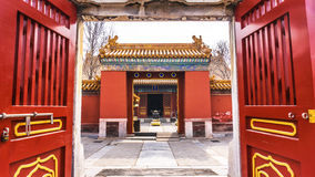 Ditan park in Beijing. Ditan park called Fang Ze altar, is the second largest altar five places in the ancient capital of Beijing. Park was built in the Ming Royalty Free Stock Image