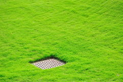 A ditch cover Royalty Free Stock Photo