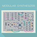 Édition limitée de synthétiseur modulaire Image stock