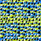 Ditsy pattern with hand drawn small triangles Royalty Free Stock Images