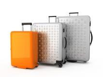 ditt bagage Stock Illustrationer