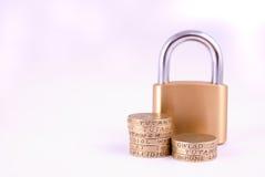 ditt finansskydd Arkivbild