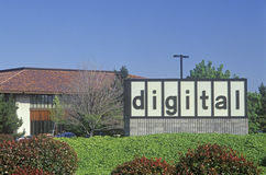 Ditta di Digital Equipment in Santa Clara, Silicon Valley, California fotografia stock