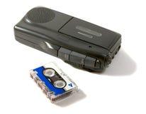 Dittafono e nastro magnetico Fotografie Stock Libere da Diritti