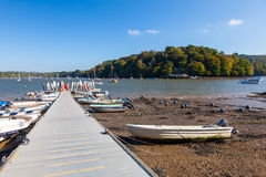 Dittisham Devon England Royalty Free Stock Photos