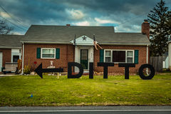 Ditto House Royalty Free Stock Photography