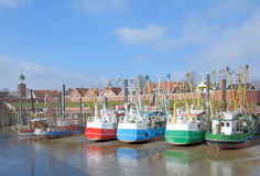 Ditzum,East Frisia,North Sea,Wadden Sea,Germany Royalty Free Stock Images
