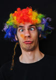 Ditzy Clown Stock Photography